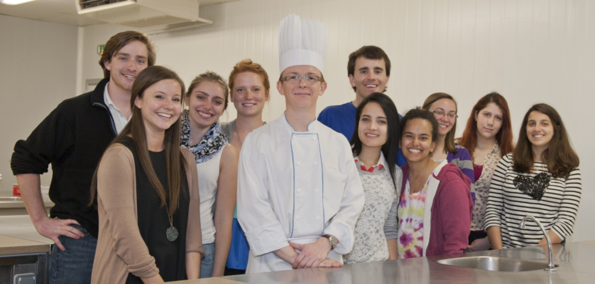 french cuisine at cfa les douets | institut de touraine